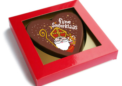 Chocolate Heart Sinterklaas