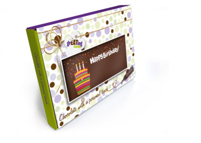 Greating Card Gift Box Happy Birthday