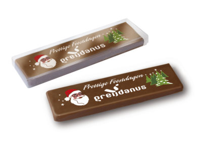 Message Bar Christmas with logo