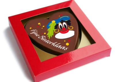 Chocolate Heart Piet