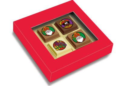 Pralines Sinterklaas 4 pcs