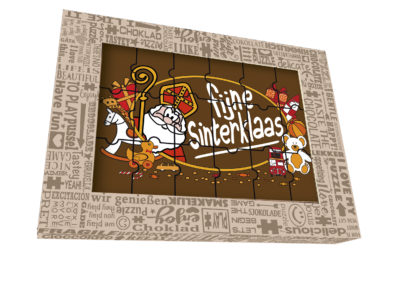 Chocolate Puzzle Sinterklaas