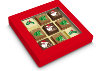 Praline Christmas 9 pcs
