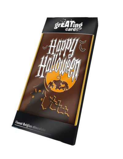Greating Card Happy Halloween