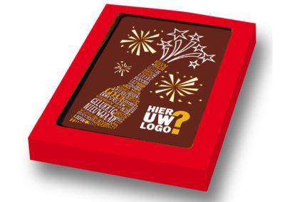 Chocolate Card nieuwjaar logo