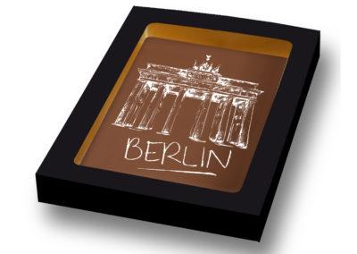Schokoladen Karte Berlin (150gr)