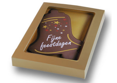 Chocolate Card Fijne feestdagen (150gr)