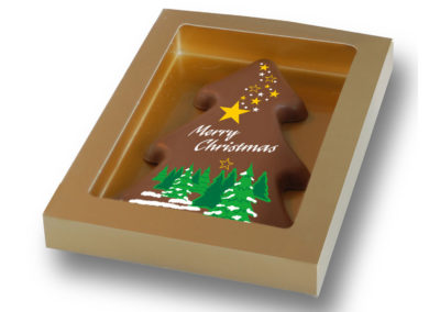 Chocolate Card Merry Christmas (150gr)