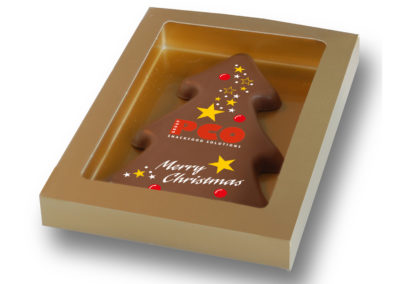 Chocolate Christmas tree PCO
