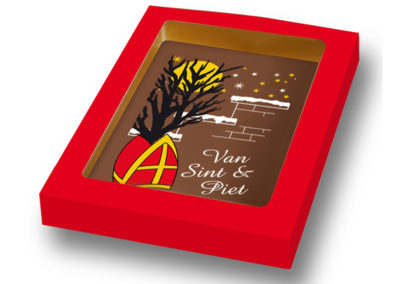 Chocolate Card Van Sint en Piet (150gr)