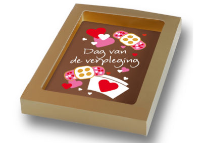 Chocolate Card Dag van de Verpleging