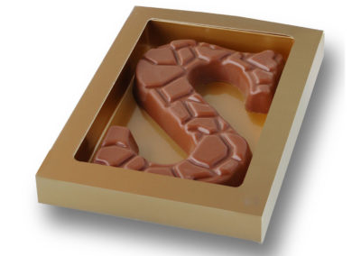 Chocolate Letter Relief (135g)