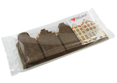 Chocolate Canalhouses I love Holland